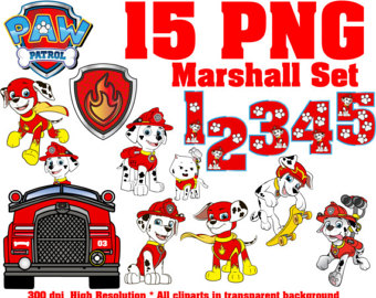 Vehicle clipart paw patrol BBCpersian7 PNG collections Patrol marshall