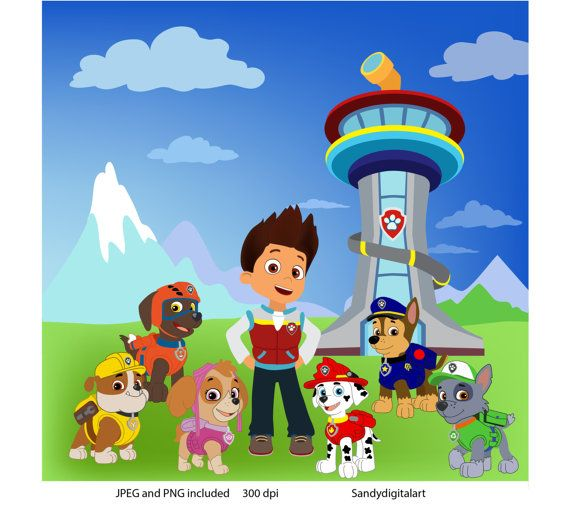 Vehicle clipart paw patrol 28 I best PAW awesome