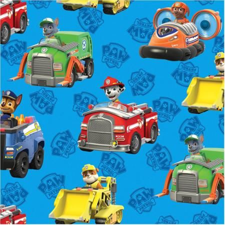 Vehicle clipart paw patrol Best Rescue 20+ cars Fabric