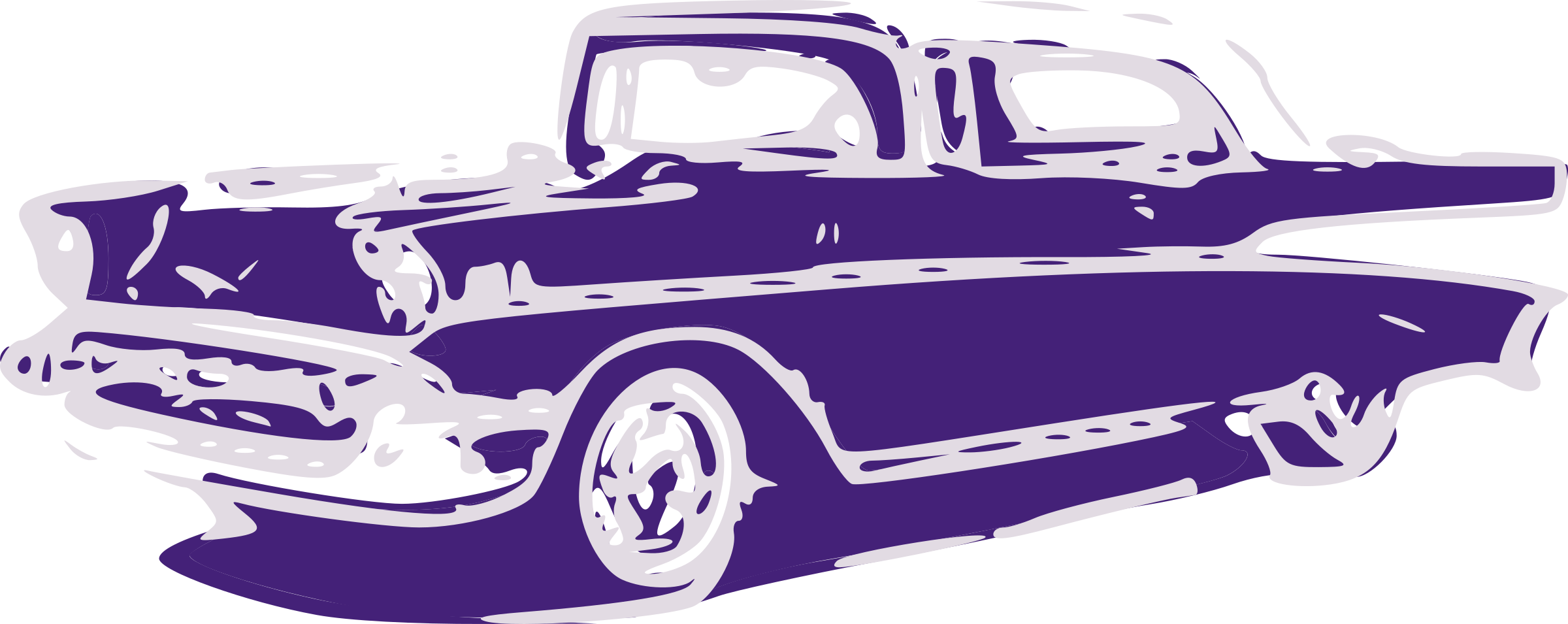 Classical clipart antique car Purple Old Car Purple Car
