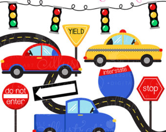 Traffic clipart cute Clip art Commercial Clipart Taxi