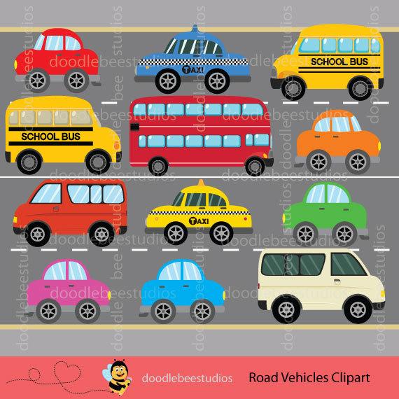 Taxi clipart van Art York Clipart Transportation Yellow