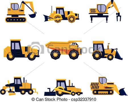 Vehicle clipart roller And Vector Construction Clip Roller