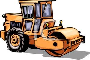 Vehicle clipart roller Free Vehicle Picture Royalty Construction