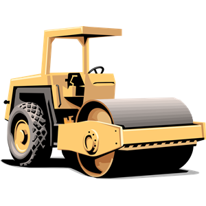 Vehicle clipart roller Free Clipart Clipart Construction Images