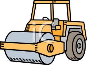Vehicle clipart roller Clipart Clip Panda Construction Free