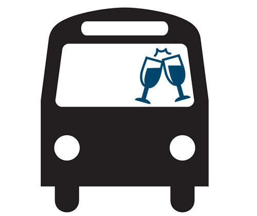 Wedding clipart bus Party Bus in Boro Bus