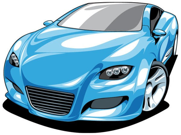 Blue Car clipart cool car Car #clipart #carclipart Sports #carclipart