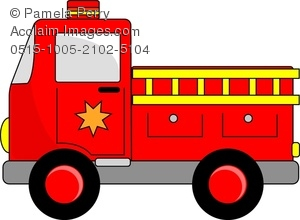 Vehicle clipart things Clip truck cartoon fire Search