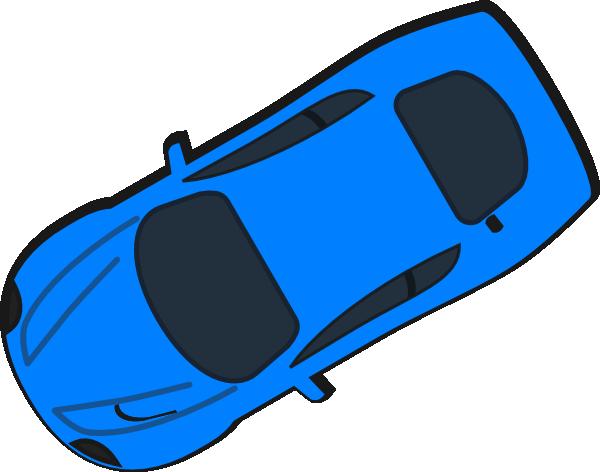 Blue Car clipart car aerial view Com Clipartion View Car Clipart