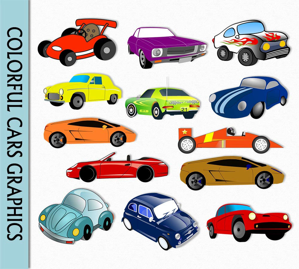 Race Car clipart automobile Graphic Clipart Car Digital Clip