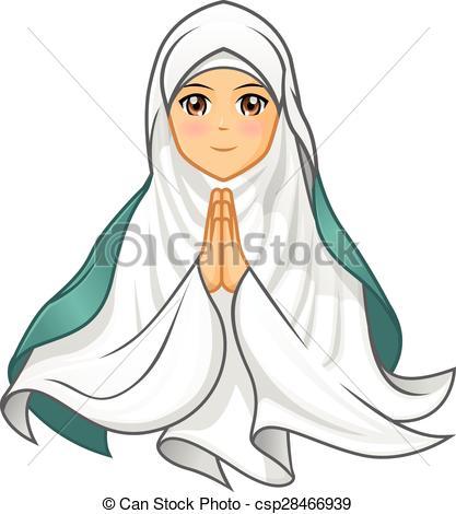 Veil clipart  Wearing Clip 431 veil