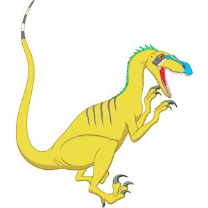 Velociraptor clipart Velociraptor of Velociraptor  free