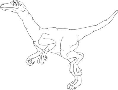 Velociraptor clipart Dinosaur kids  Dinosaur Free