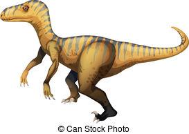 Velociraptor clipart Of Vector Illustration Illustration Velociraptor