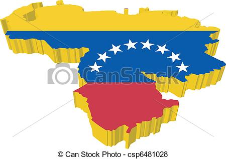 Venezuela clipart Vector 524 3D Clip Venezuela