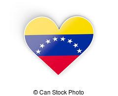 Venezuela clipart Heart Venezuela of Illustrations heart