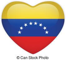Venezuela clipart Clip free Heart Art