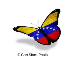 Venezuela clipart Venezuela Flag Venezuelan butterfly Venezuelan flag butterfly