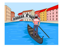 Canal clipart  Results Search in gondolia