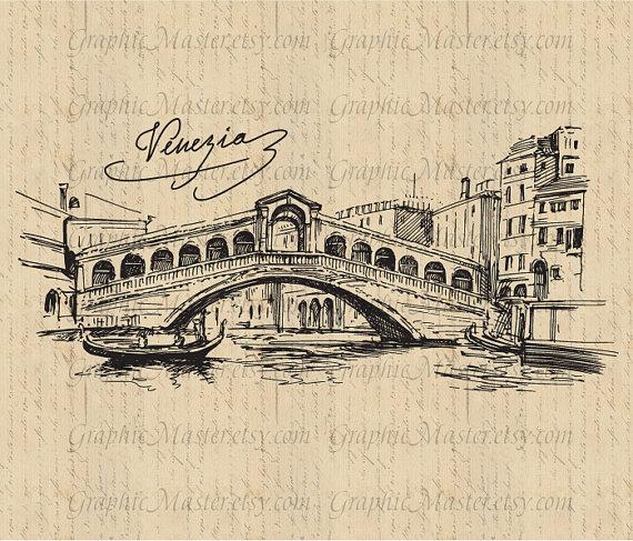 Venice clipart Image Venice tea Bridge Download