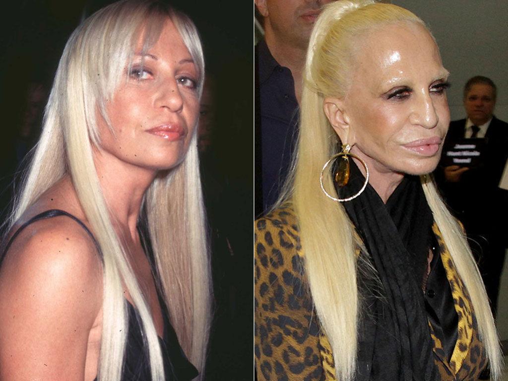 Versace clipart donatella versace : now 1997 Versace now