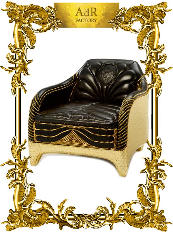 Versace clipart versace home Home Chair Versace ANNA DELLO