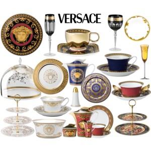 Versace clipart versace home Red Versace Medusa Soup Cup