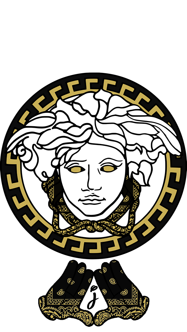 Versace clipart versage X VERSACE SUPREME THE on