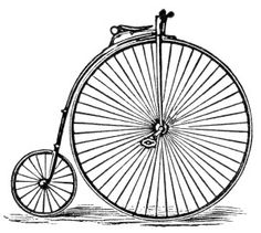 Bicycle clipart old fashioned  bicycle art bicycle and