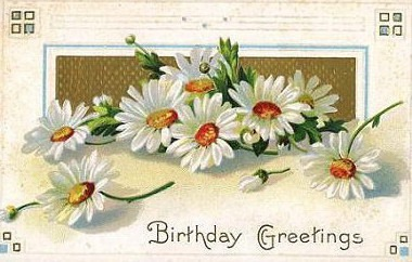Vintage Flower clipart vintage birthday #14