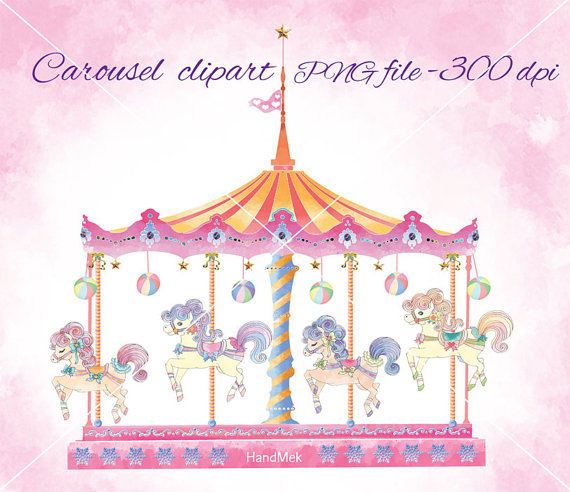 Ride clipart carousel Round more go on carnival
