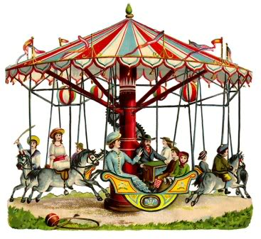 Carousel clipart county fair Carousel at fair the county