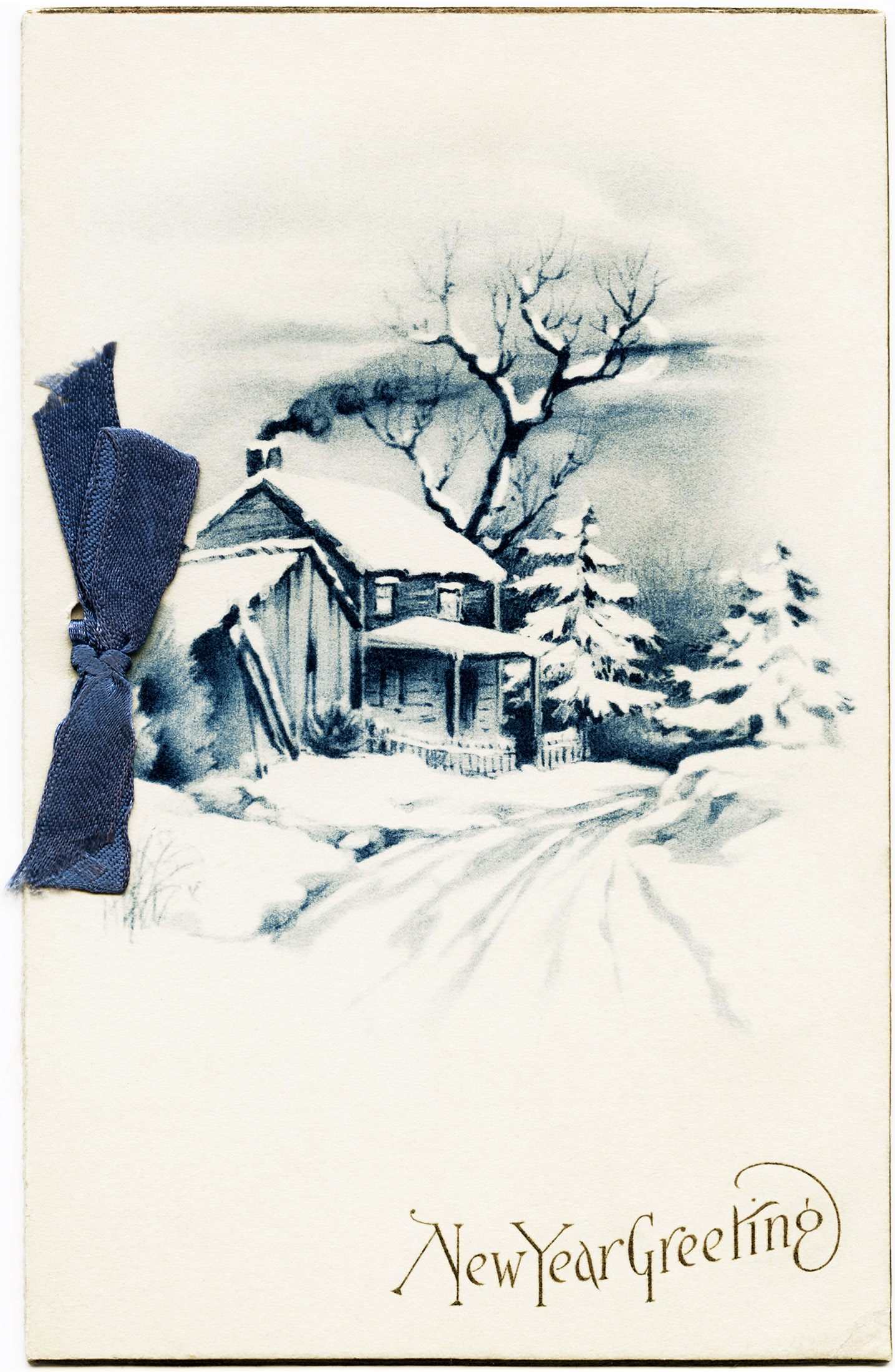 Victorian clipart christmas winter scene Clip Art Art Vintage Winter