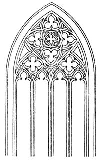 Arch clipart gothic Church Clipart church clipart window