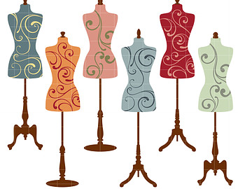 Wire clipart mannequin Art mannequin Etsy Card Toppers