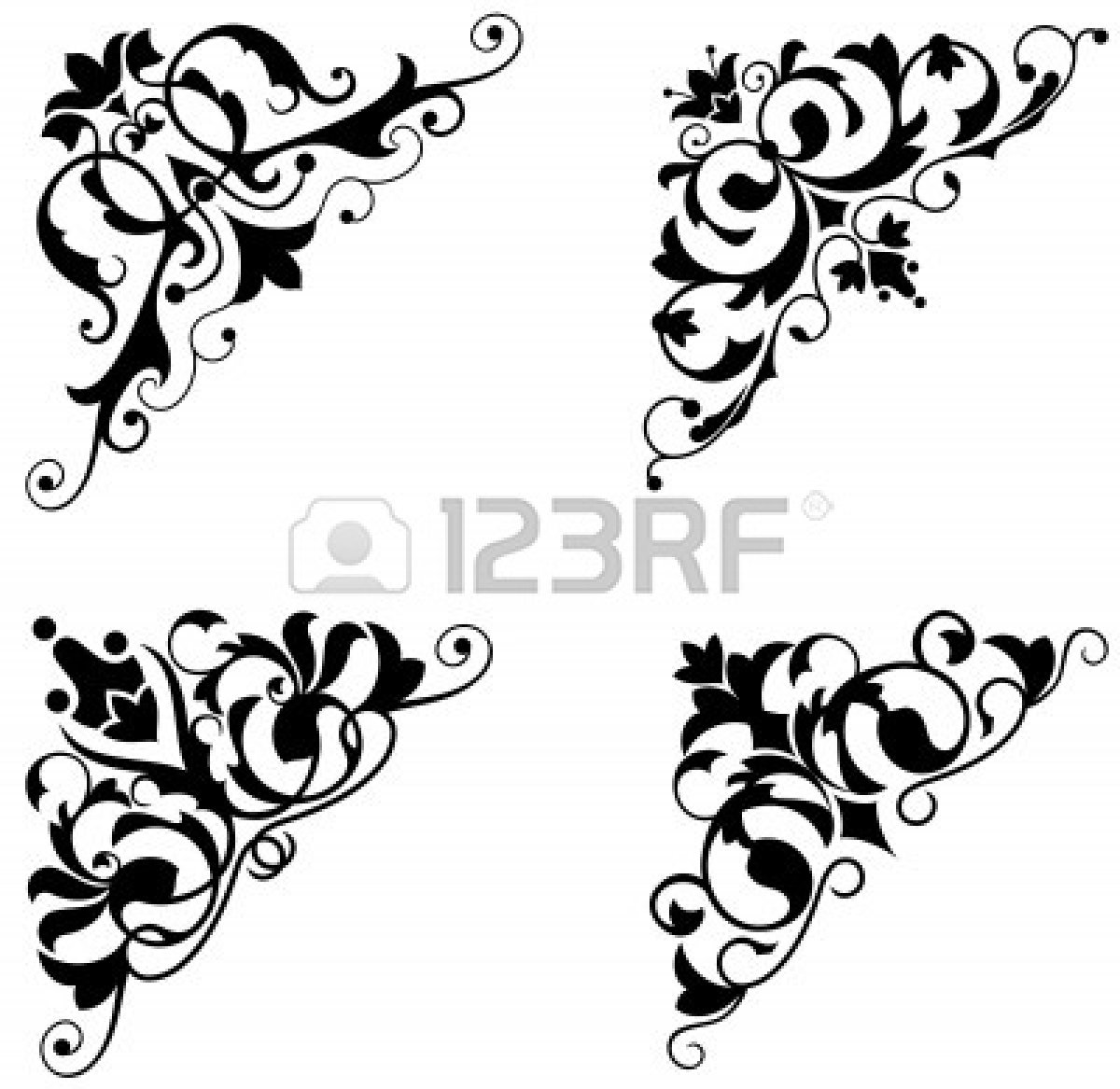 Classical clipart victorian scroll Images Free Scroll Clipart victorian%20scroll%20corner%20clip%20art