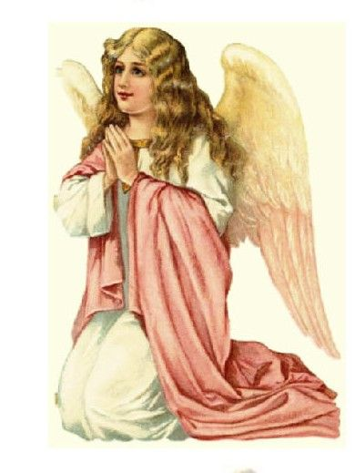 Angel clipart victorian angel #7