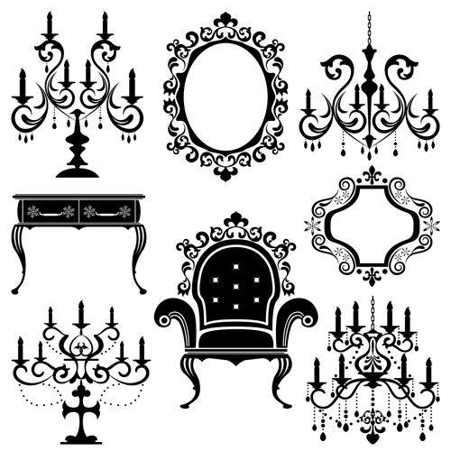Victorian clipart rococo Rococo Rococo on about Pinterest