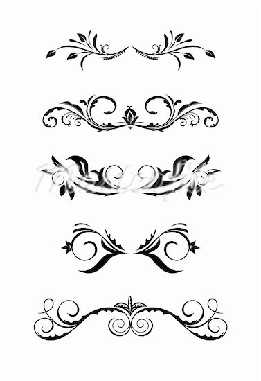 Classic clipart scrollwork #2