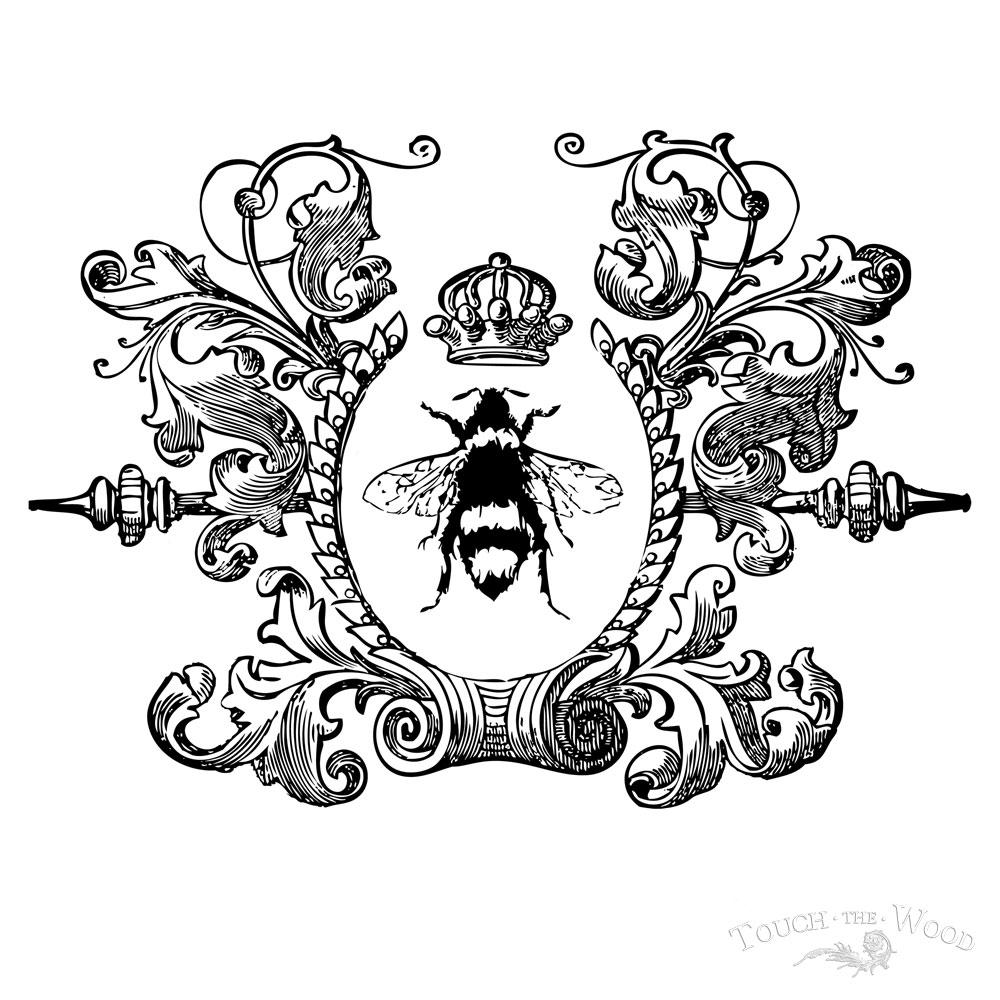 Victorian clipart symbol Bee  Go Bee >