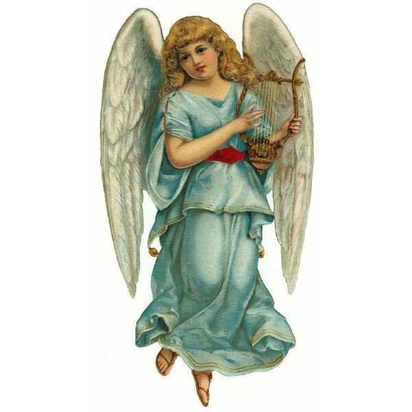 Angel clipart victorian angel #2