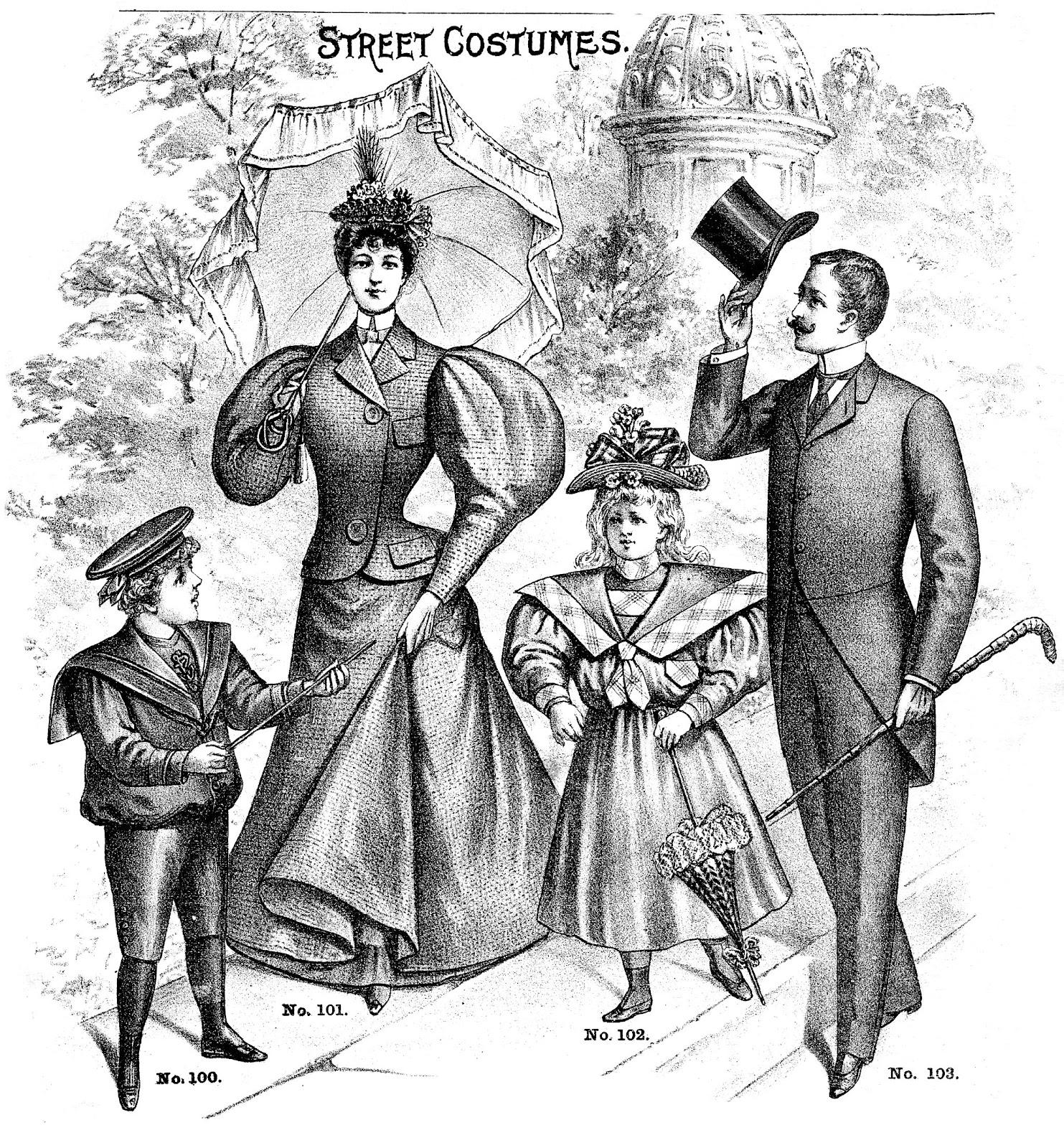 Victorian clipart victorian era Father's Clip Father's Clip Art