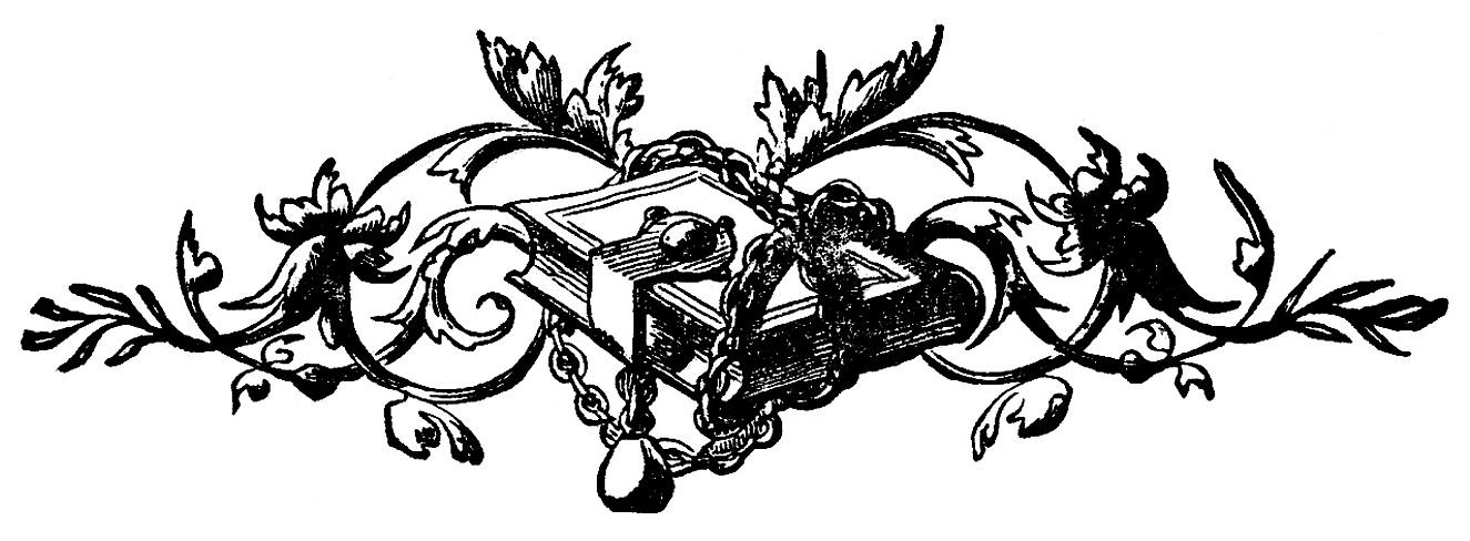 Victorian clipart vintage ornament Vintage Printer & – Ornaments