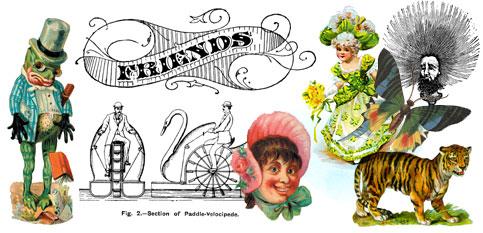 Victorian clipart vintage recipe Vintage and Art Clip Crafts