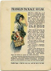 Victorian clipart vintage recipe Franklin old advertisement magazine page