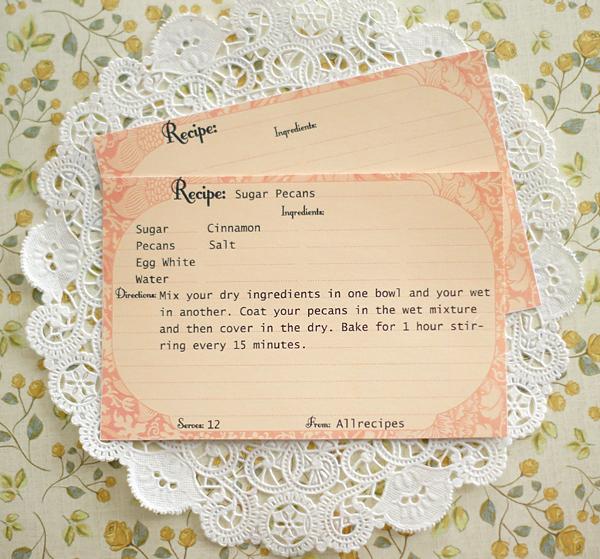 Victorian clipart vintage recipe Recipe Free Recipe Printable Me