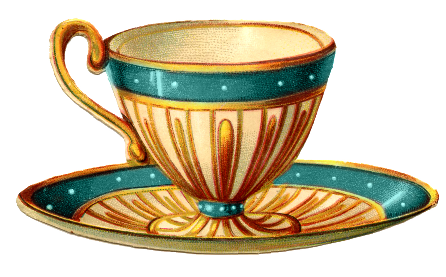 Teacup clipart tea set Vintage Graphics Fairy Pretty Graphics