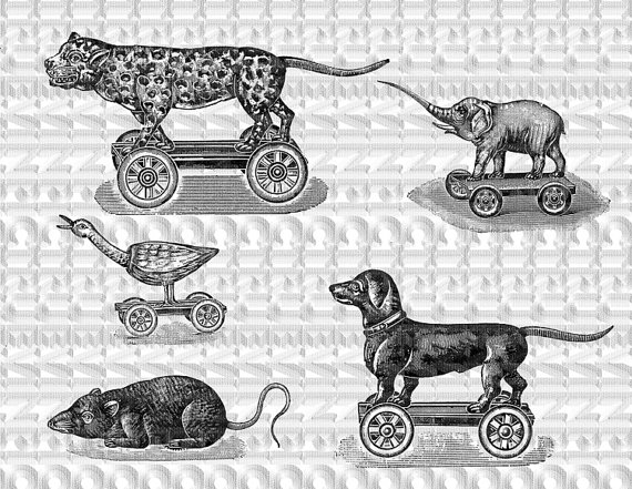 Victorian clipart vintage toy White download Truvinpic toy toys