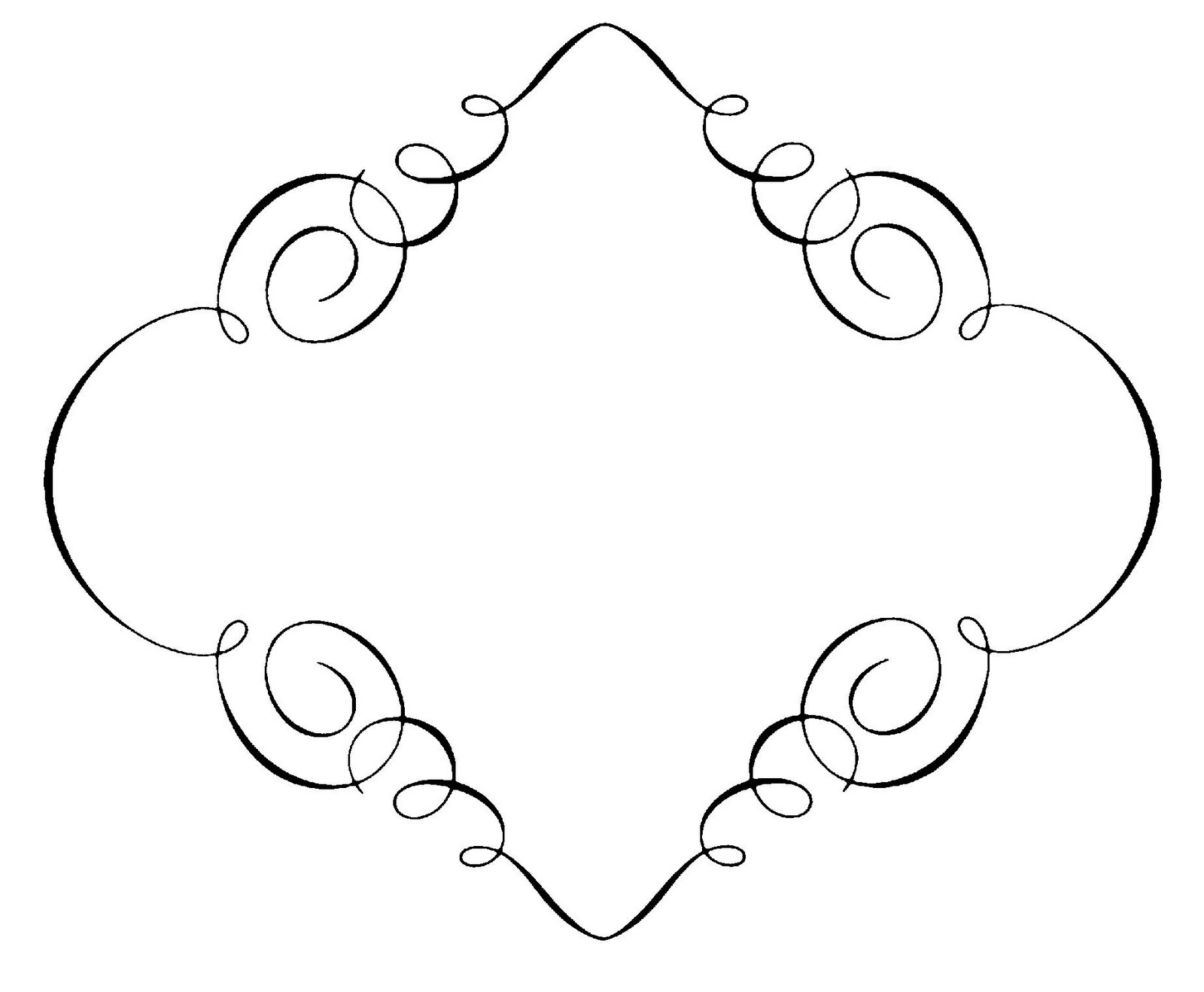 Classic clipart scrollwork #10